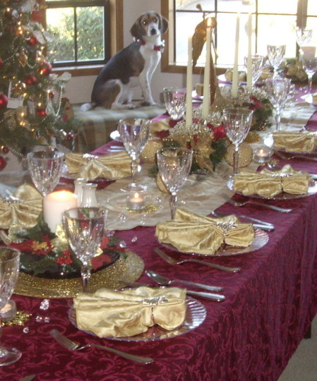 christmas tablescape ideas best christmas table decorations ideas. Black Bedroom Furniture Sets. Home Design Ideas