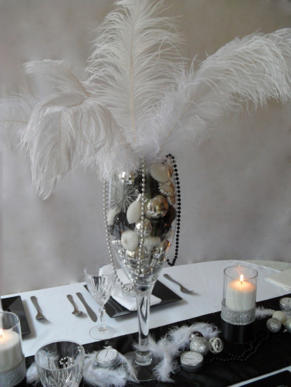 Black And White Theme New Year S Eve Party Beautiful