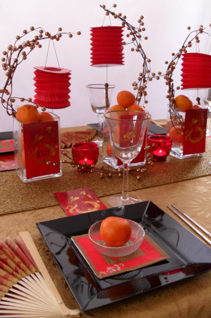 chinese new year dinner, chinese new year tablescape, lunar new year celebration, lunar new year tablescape, chinese new year party