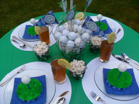 Father's Day dessert ideas golf theme party popsicle for ...