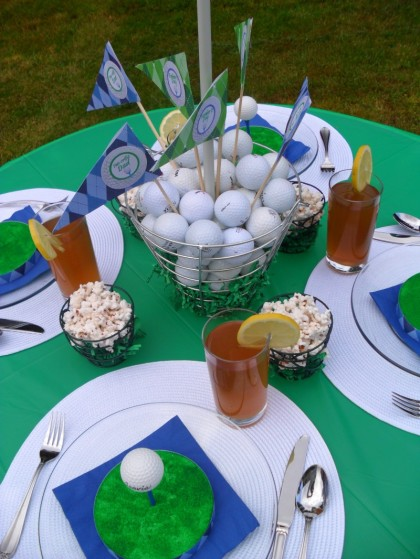 Father S Day Dessert Ideas Golf Theme Party Popsicle For