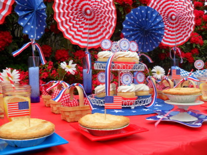 4th of july party dessert food patriotic picnic sweet for 4th of july party decoration