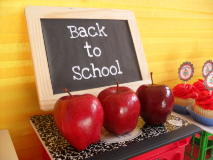 Back to school snacks, school snacks, back to school party, teacher's gifts, teacher appreciation