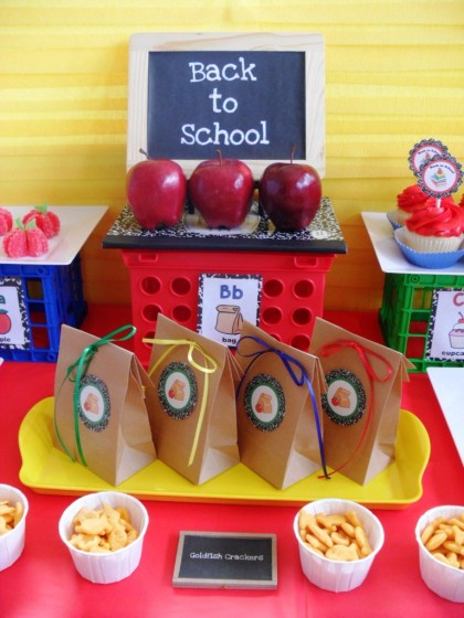 Back to school fun food and smart snack ideas for kids