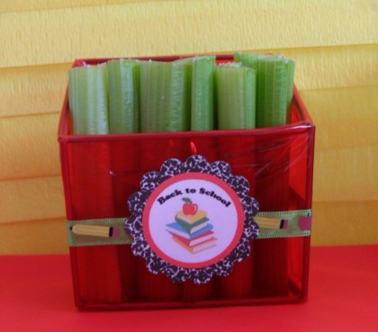 pencil holder snacks, Back to school snacks, school snacks, back to school party, teacher's gifts, teacher appreciation