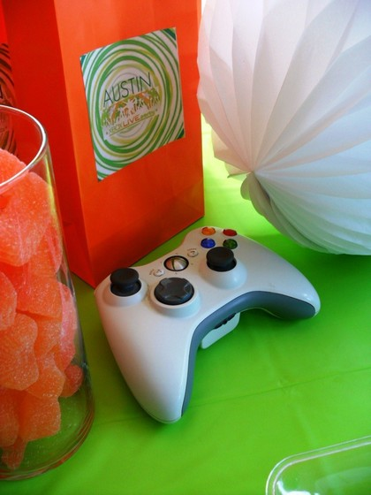 This Party Was Super Inexpensive I Used XBOX Controllers As Table Decor