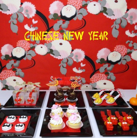 chinese new year desserts chinese new year party dragon cupcakes dragon treats