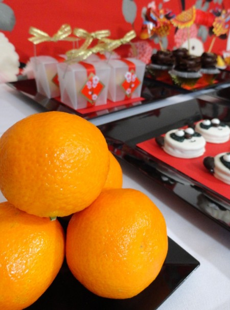 chinese new year desserts, chinese new year party