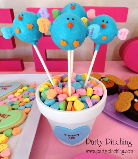 cute food, tweet me dessert, cute cake pops, tweet me cake pops, twitter cake pops, cute twitter bird