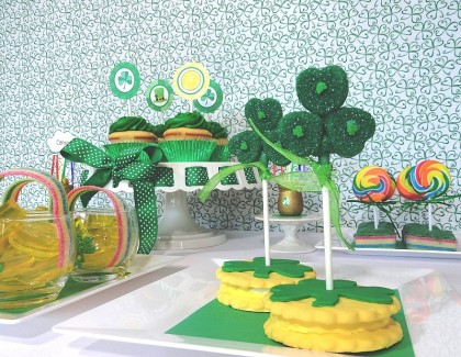 st. patrick's day dessert ideas for kids, st patrick's day desserts, st. patrick's day dessert table