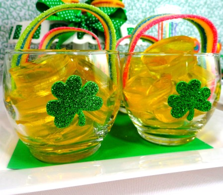 st. patrick's day dessert ideas, st. patrick's day jello, st. patrick's day gold coin, st. patrick's day pot of gold, st. patrick's day ideas for kids