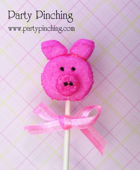 Pig pop marshmallow, alimento bonito, pop pio, piggy pop, marshmallow porco