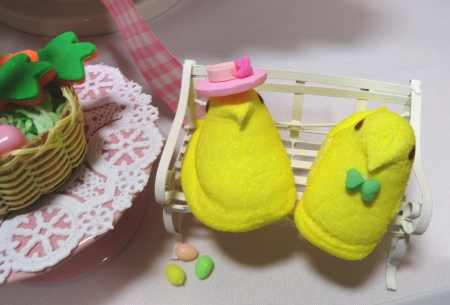 cute peeps, cute food, easter peeps, candy peeps,