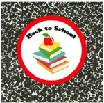Free back to school printables, free back to school cupcake toppers and tags