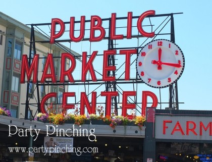 Pike Place Market, Seattle theme party