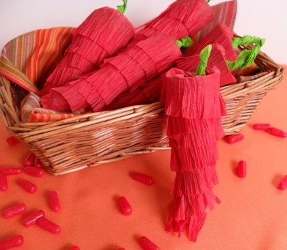 cinco de mayo chili pepper pinata craft, diy mexican chili pepper, best cinco de mayo fiesta party food dessert ideas, cinco de mayo recipe cute chili pepper hot tamales