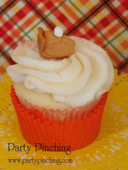pumpkin pie cupcake, thanksgiving dessert, cute food