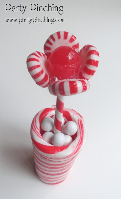 candy cane craft, candy cane flower, easy candy cane recipes, cute candy cane ideas, cute christmas crafts