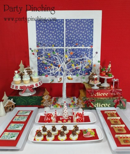 twas the night before christmas dessert table christmas dessert ideas no bake christmas desserts - Twas The Night Before Christmas Decorating Ideas