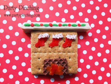 graham cracker fireplace, cute christmas cookie, rice krispie treat mouse, cute sleeping mouse, christmas mouse dessert,twas the night before christmas dessert table, christmas dessert ideas, no bake