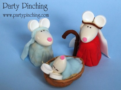 mary, joseph, jesus, nativity cake, cute nativity cake, christmas cake, cute christmas cake