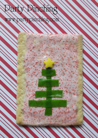 poptart, christmas breakfast, christmas breakfast ideas, kid friendly christmas treats