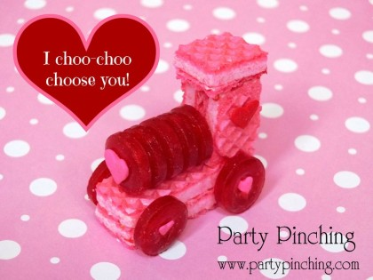 valentine dessert for kids, cute train valentine, train cookie, lifesaver candy, valentine for boys