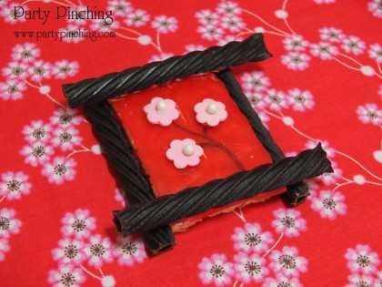 chinese new year rice krispie treat, chinese new year desserts, chinese new year party, chinese new year party ideas