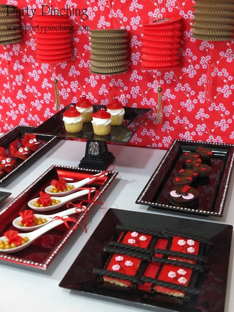 chinese new year desserts, chinese new year party ideas
