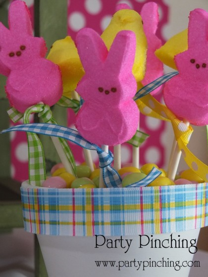 Easter Peep pops, Easter Peeps, Easter dessert ideas, Easter dessert table, Easter treats for kids, easy Easter desserts, Easter cupcakes, Easter cookies, Easter bunny party