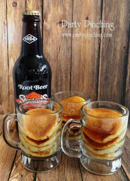 mini root beer pancakes, national pancake day