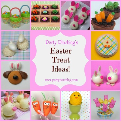 easter treat ideas, easter dessert ideas, easter brunch ideas, easter recipes, easter party ideas, cute easter ideas for kids