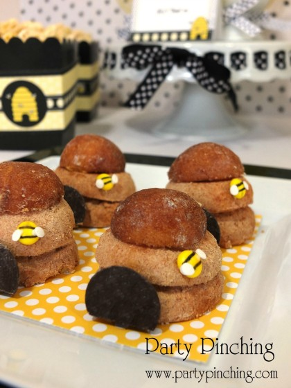 Bee Party Ideas Cookies Cute Desserts Cupcakes Hive