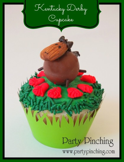 kentucky derby ideas, kentucky derby cupcake, horse cupcake, kentucky derby dessert ideas, kentucky derby party