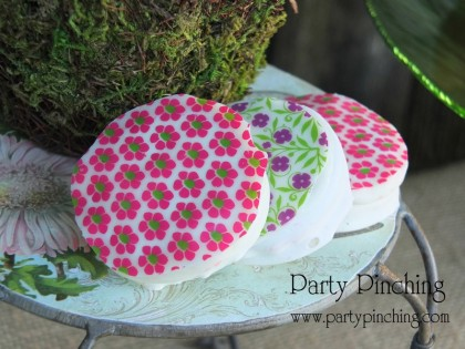 garden cookies, oreo flower cookies, pretty cookies, greenhouse cake, garden cake, garden party ideas, garden party desserts