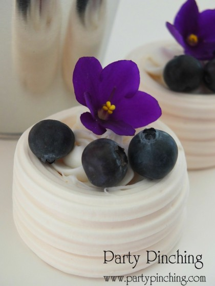 blueberry meringes greenhouse cake, garden cake, garden party ideas, garden party desserts
