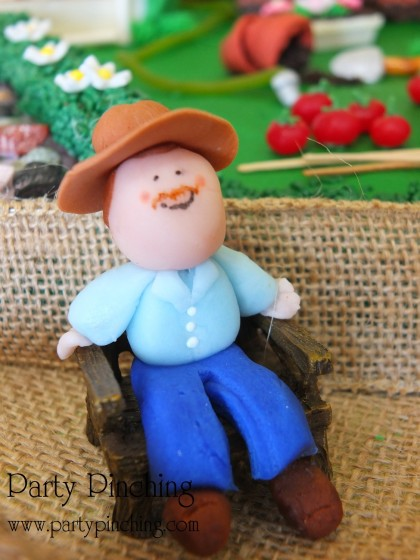 ciscoe morris, greenhouse cake, garden party ideas