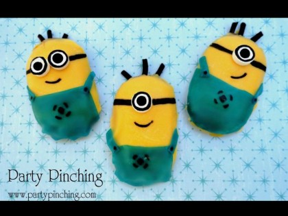 Minion cookies, despicable me party, minion treats