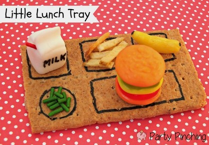 school treat, back to school treat, after school snack, classroom treat, cute lunch tray, lunch snack for kids