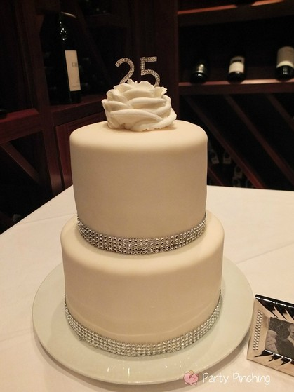 25th anniversary party, silver anniversary party, 25th anniversary ideas, 25th anniversary dinner