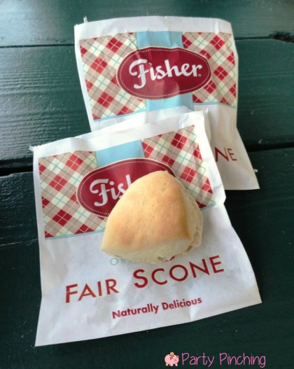 fisher fair scones, evergreen state fair