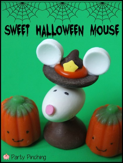 halloween hershey kiss, halloween mouse, cute halloween dessert, halloween treat for kids, halloween party ideas