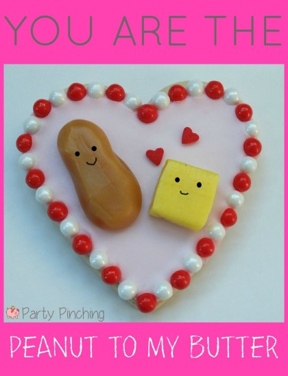 heart cookies, valentine's day cookies, cute valentine's day cookies, valentine's day party ideas, kid's valentine's party ideas, peanut butter cookies