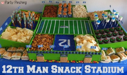 Best Super Bowl Snack Stadium Seattle Seahawks  supplier