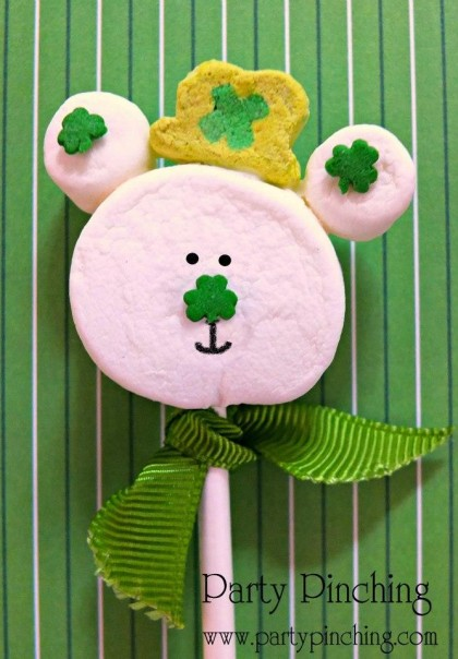 st. patrick's day party ideas, st. patrick's day dessert ideas for kids, st. patrick's day treat, st. patrick's day cute cake pop, lucky charms