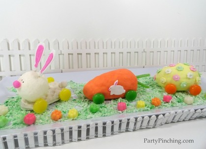 Easter bunny train, easter dessert for kids, easter dessert ideas