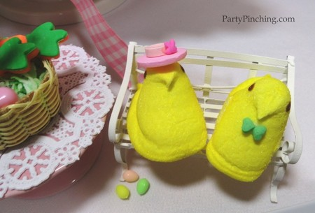 easter dessert ideas, easter peeps, party pinching, easter desserts for kids, easy easter desserts