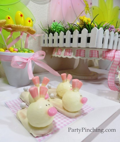 easter dessert ideas, easter bunny slippers, easter desserts for kids, cute easter desserts, cute food, easy easter desserts