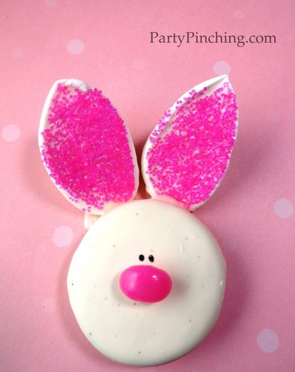 Easter ideas, Bunny Cookie, Easter Bunny cookie, Easter bunny dessert, Easter dessert, Easter treat, Easter cookie