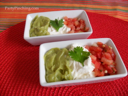 cinco de mayo party ideas, mexican flag food, mexican flag appetizer, mexican flag salsa, cinco de mayo food, fiesta food, cinco de mayo party, cinco de mayo ideas